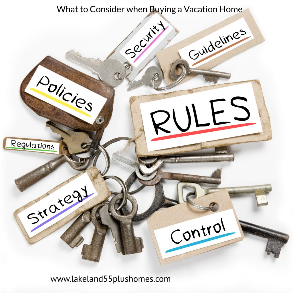 What to consider when buying vacation home