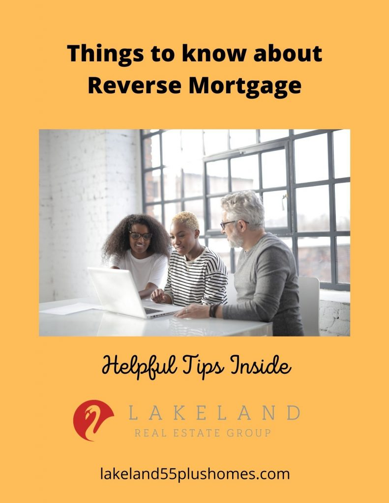 Must Read Information about Reverse Mortgage
